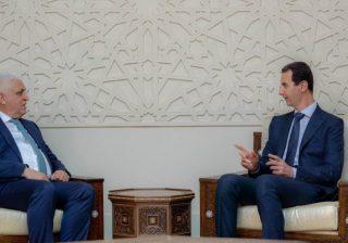 الأسد للفياض: مصير المنطقة لا يقرره سوى شعوبها