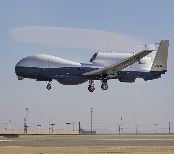 فيديو .. لقطات جديدة تظهر فيهل استهداف الطائرة الأمريكية بدون طيار