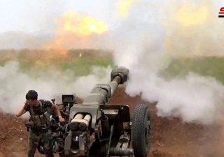 رمايات مركزة ضد تحركات الإرهابيين في ريفي إدلب وحماة
