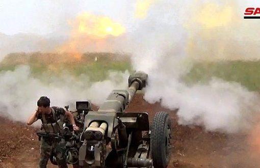 """الجيش يدمر مواقع لإرهابيي """"جبهة النصرة"""" بريف حماة الشمالي"""