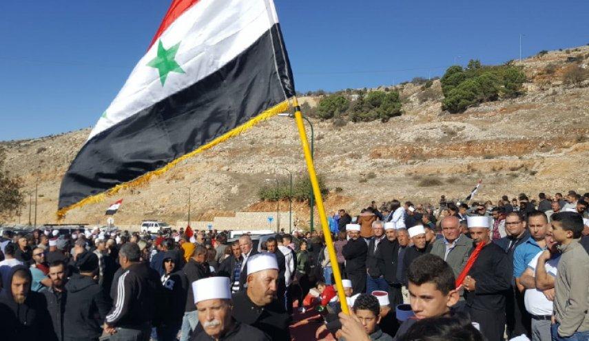 أهالي الجولان المحتل يواجهون مخطط الاستيطان بالإضراب العام
