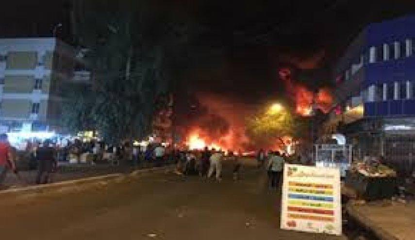 تفجير إرهابي بمقهى في ديالى