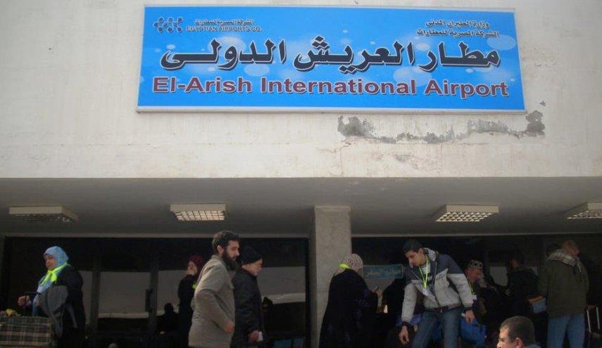 شهداء وجرحى في هجوم إرهابي قرب مطار العريش فی مصر