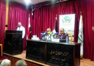 (تاريخ القدس والمستجدات والمؤامرات التي تستهدف فلسطين)عنوان محاضرة في ثقافي أبو رمانة