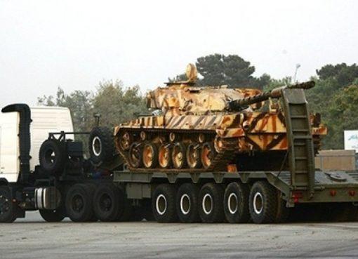 """ايران تزيح الستار عن الشاحنة حاملة الدبابات """"كيان 700"""""""