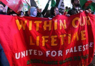 المئات يتظاهرون في مدينة نيويورك دعماً لغزة والمقاومة وضد جرائم الحرب الصهيونية