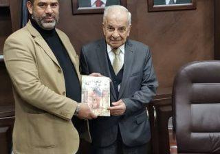 حماد والخالدي يبحثان آلية عمل اللجنة الخاصة بمخيم اليرموك