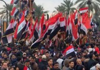 الصدر يدعو لمظاهرات جديدة اليوم ضد أمريكا في بغداد ومدن عراقية أخرى