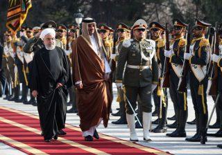 ما هو سر زيارة أمير قطر المفاجئة إلى إيران؟