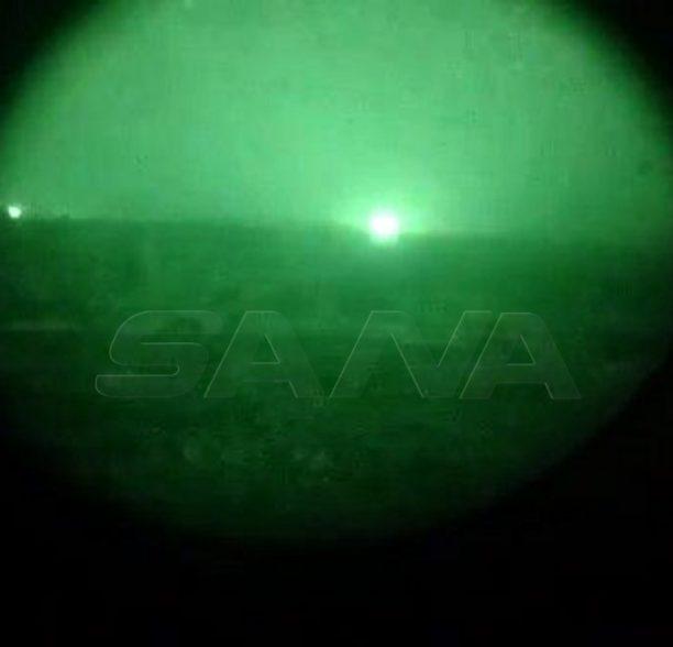من عمليات استهداف الجيش العربي السوري لأوكار التنظيمات الإرهابية غرب مدينة حلب (صور+فيديو)