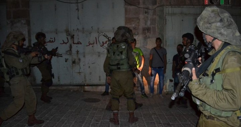 العدو الاسرائيلي يواصل الاعتقالات والدهم بالضفة الغربية المحتلة